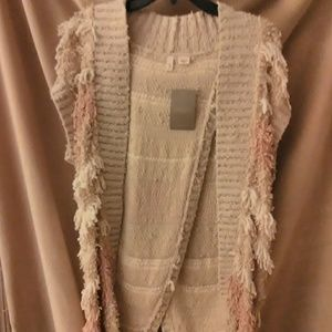 """Anthropologie"" vest (sz ""small"" but would fit med"